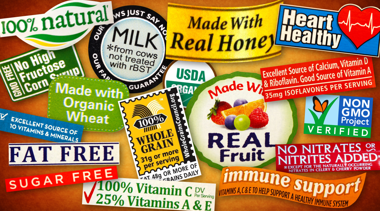 Decoding Packaged Food Label Claims