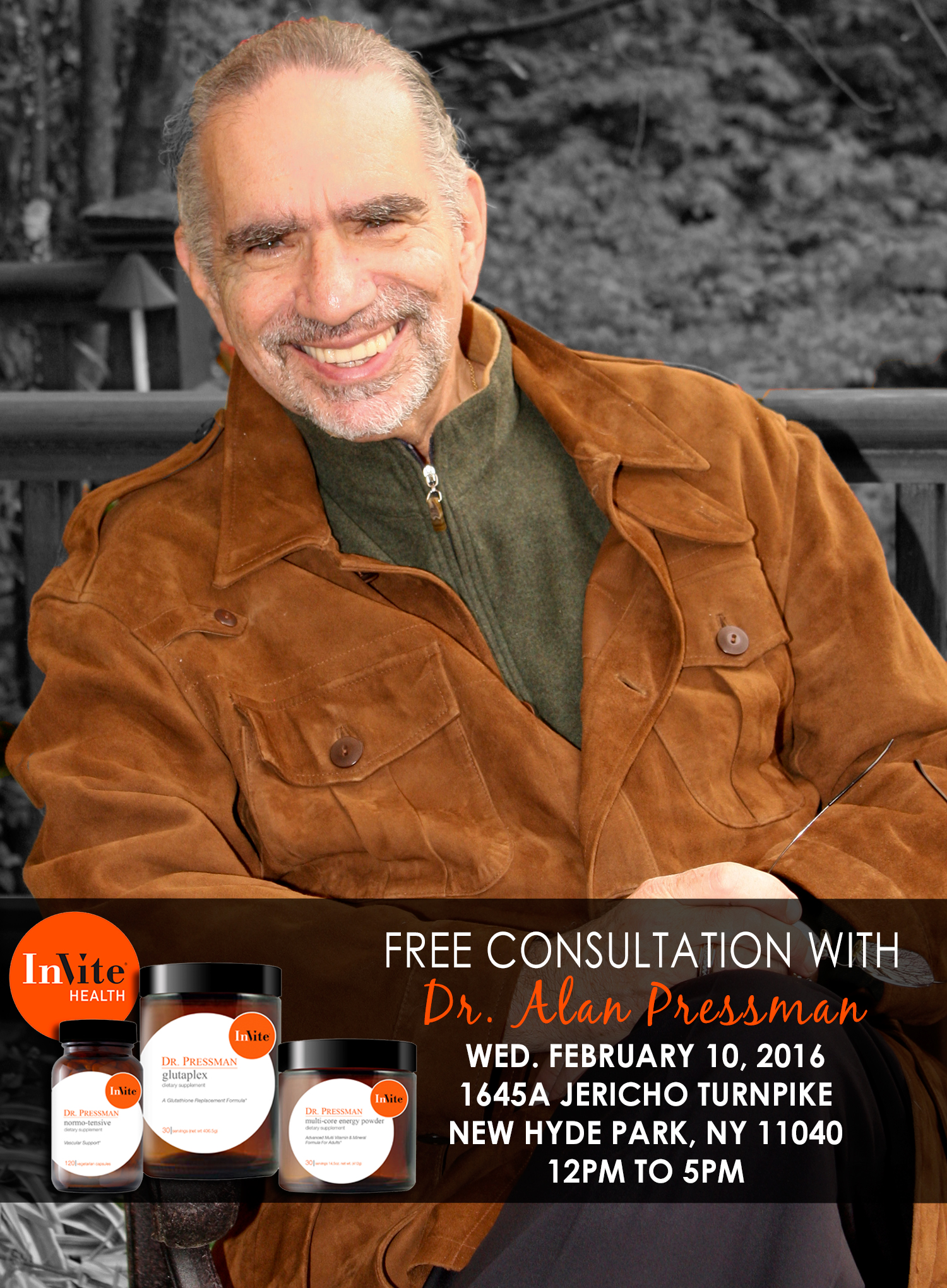 Meet Dr. Alan Pressman in New Hyde Park!