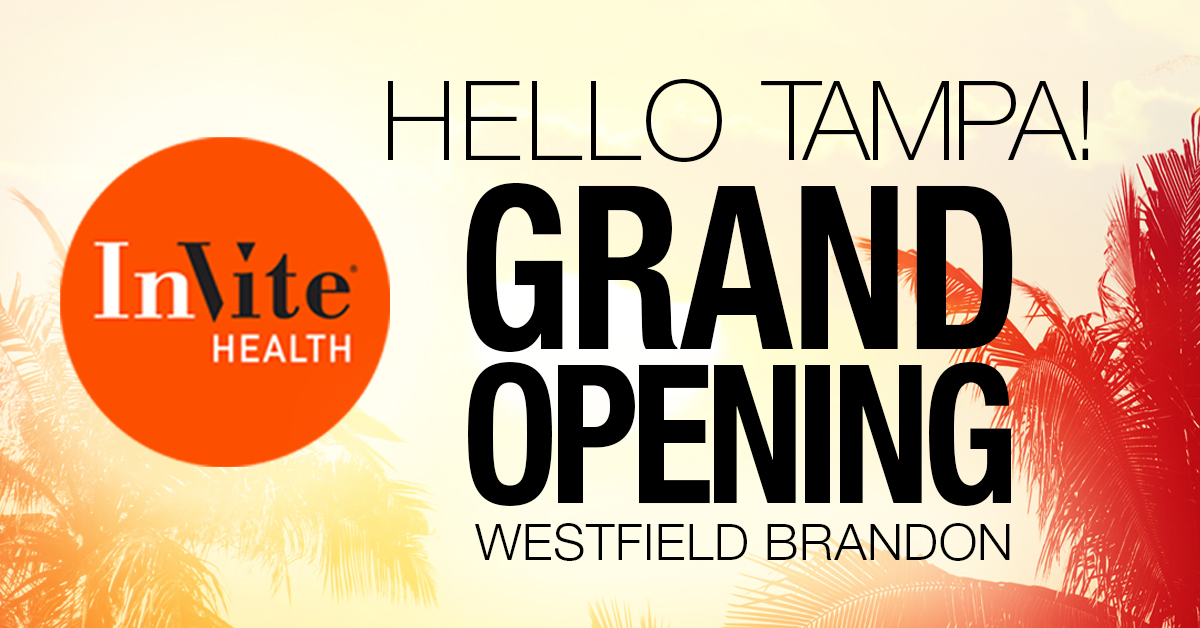 Join InVite at Our Westfield Brandon Mall Grand Opening
