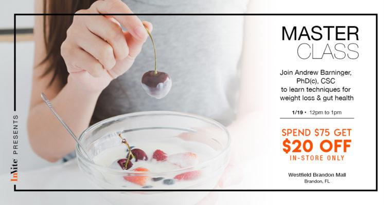 Introducing the InVite® Master Class: Weight Loss & Gut Health (Brandon, FL)